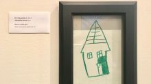 Parents are loving this couple's fix for their children's wall scribblings