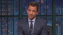 Seth Meyers Mocks Sean Hannity for Obsession Over Trump Dossier