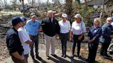 Trump praises Rick Scott as he tours hurricane damage in Florida