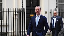 Dominic Raab to deputise for Boris Johnson and pledges to 'defeat' COVID-19