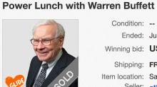 Charity lunch with Warren Buffett sells for $3.3 million