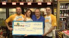Store Owner Who Sold Winning Lottery Ticket Gets $1M 6 Months After Lung Diagnosis