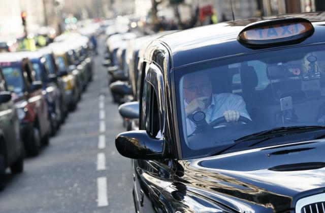 Uber cries foul over London Mayor's plan to support black cabs