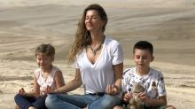 Gisele Bündchen posts never-before-seen photos of Tom Brady, kids for Earth Day