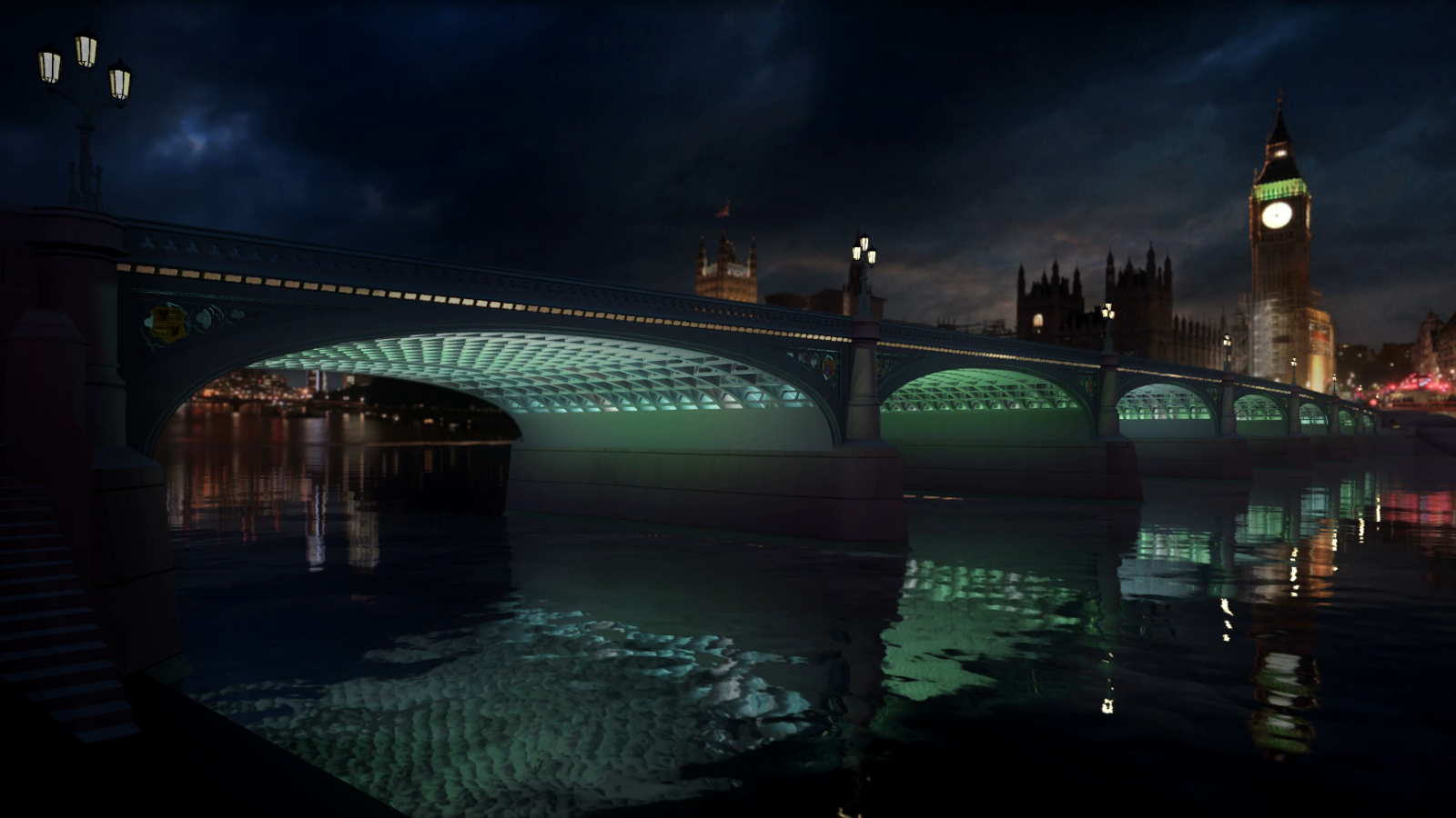 Artist behind Thames illuminations hopes they will part of London 'celebration'