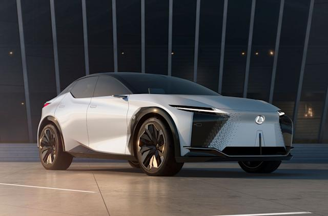 Lexus' LF-Z Electrified concept offers a peek at upcoming EVs