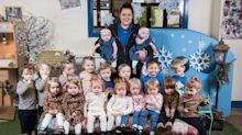 Ein Zwilling kommt selten allein: Diese Kindertagesstätte hat neun Pärchen auf einmal