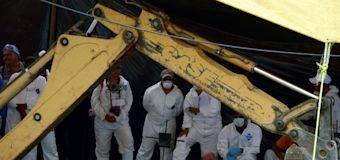Mexico begins exhumation of more than 100 bodies