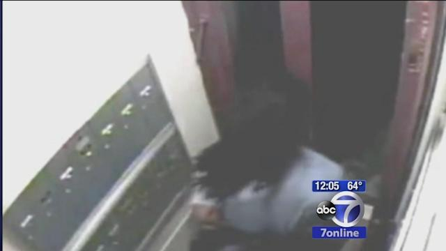 Attempted rape suspect caught on video