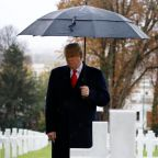 Trump skipped WWI cemetery visit to avoid causing traffic jams in Paris, White House claims