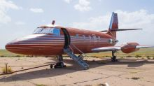 Elvis Presley's abandoned Lockheed private jet up for auction: See photos