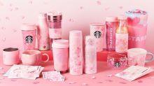 日本Starbucks推出春日櫻系限定飲品系列!還有多款粉嫩櫻花周邊~