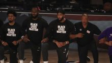 Adam Silver vows to not enforce NBA's kneeling rule as LeBron James, others protest in bubble debut