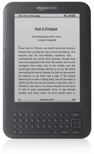 New Amazon Kindle announced: $139 WiFi-only version and $189 3G model available August 27th in the US and UK