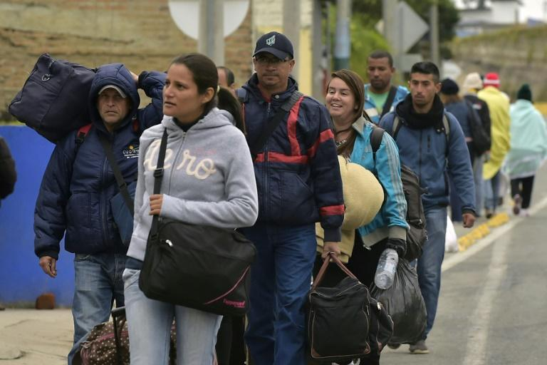 Peru sees single day record number of Venezuelans arrive