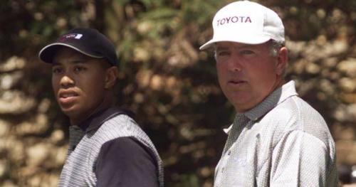 Golf - Masters - Retro Woods 1997 : 40+30 = 70 pour le premier tour