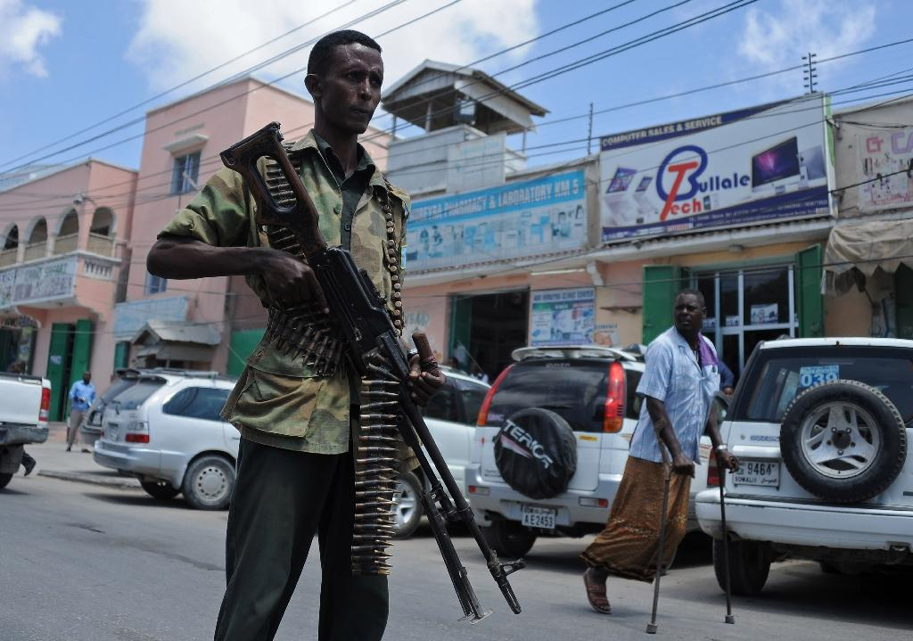 Somalia has been unstable since the collapse of Siad Barre's hardline regime in 1991, and the country's new government is being supported by a 22,000-strong African Union force (AFP Photo/Mohamed Abdiwahab)