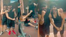 Honey Singh and Guru Randhawa Work Out Video