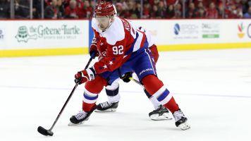 Somebody shrunk Capitals star Evgeny Kuznetsov's jersey