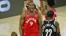 NBA playoffs tracker: Raptors a win away from sweep after rolling Nets
