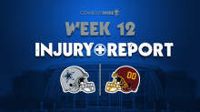 Final Injury Report: Cowboys Anthony Brown, Greg Zuerlein questionable