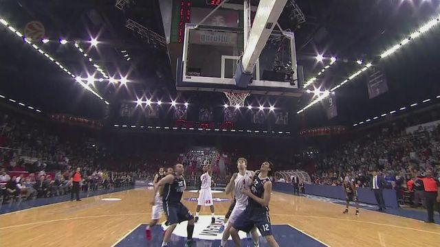Wins for Efes, Olympiacos and Lokomotiv Kuban in Euroleague