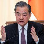 China's top diplomat calls for U.S. restraint on trade, Iran