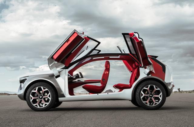 Kia's HabaNiro 'everything car' is the wackiest EV crossover