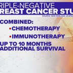 Chemo and immunotherapy together may help triple-negative breast cancer patients