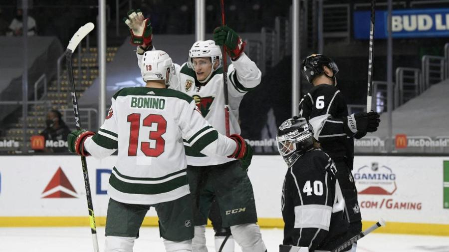 NHL: Sturm trifft für Minnesota - auch Grubauer mit Colorado erfolgreich