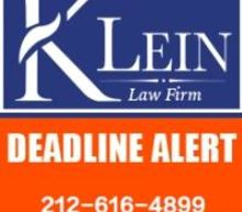 TCDA ALERT: The Klein Law Firm Announces a Lead Plaintiff Deadline of March 8, 2021 in the Class Action Filed on Behalf of Tricida, Inc. Limited Shareholders