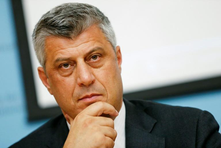 Kosovo President Hashim Thaci indicted for war crimes