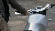 Diseñan motocicleta con materiales biodegradable