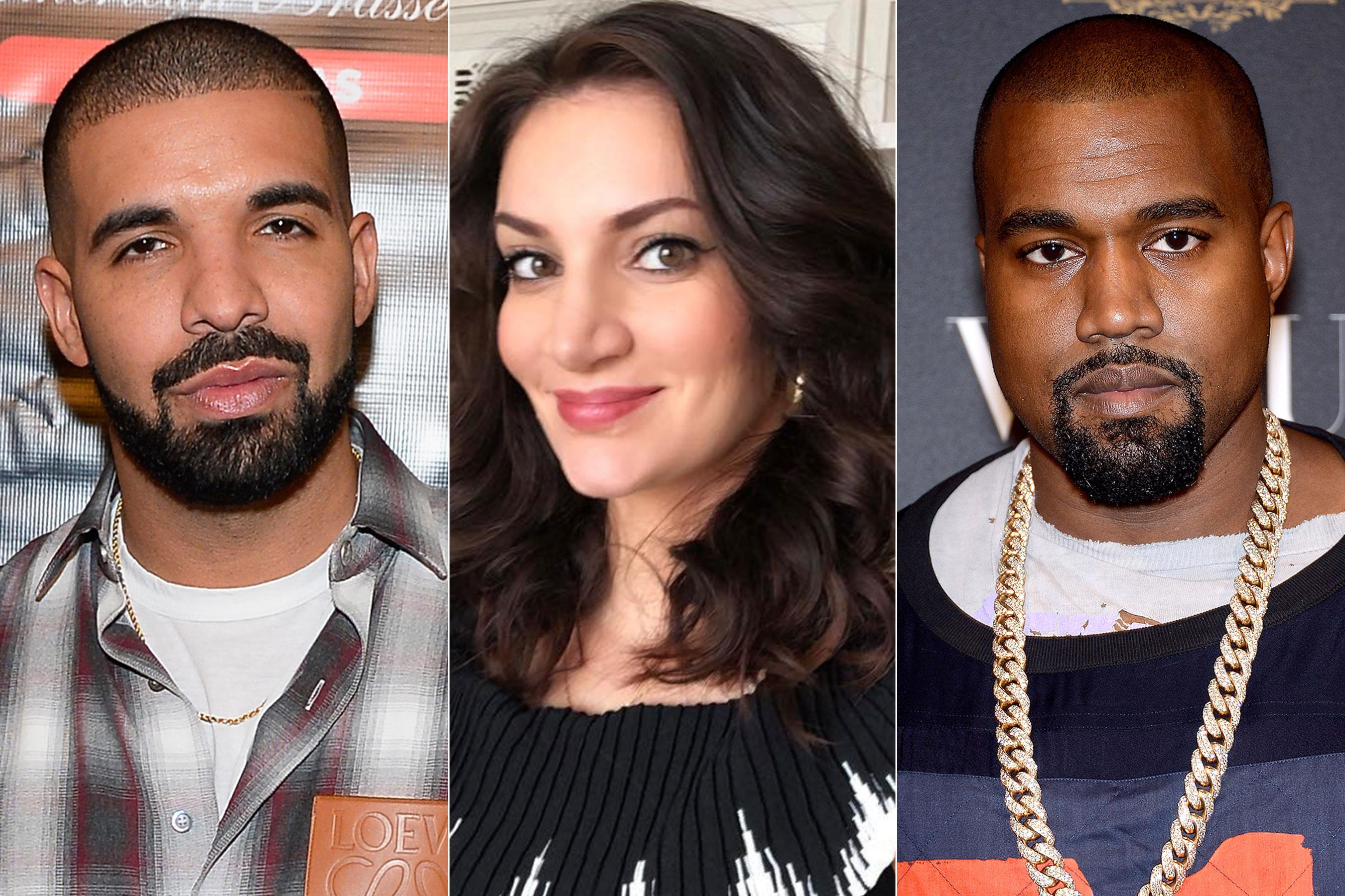 65311dda3f58 Sophie Brussaux, the Mother of Drake's Child, Criticizes Kanye West Amid  Rappers' Ongoing Feud