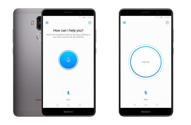 Alexa on Huawei's Mate 9 won't listen unless you press
