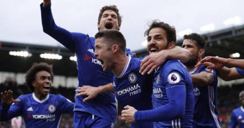 Foot - ANG - 29e j. - 29e journée : Chelsea s'impose à Stoke et se rapproche du titre