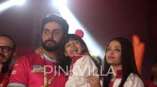 Aaradhya Bachchan steals the spotlight with Aishwarya Rai Bachchan and Abhishek Bachchan at Pro Kabaddi match