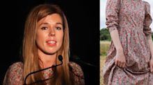 Carrie Symonds wore a £255 sustainable eco-dress - and this is where you can buy it