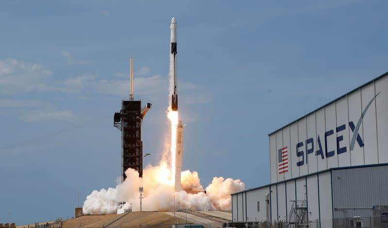 Elon Musk's SpaceX wins Pentagon award for missile tracking satellites""