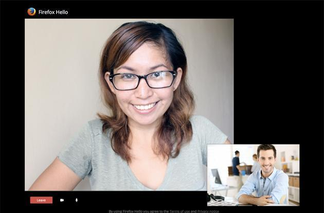 Firefox beta simplifies video chat, shares calls with a single link