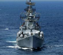 Navy warship seizes suspected Iran missile parts set for Yemen