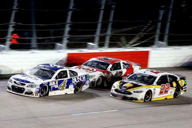Kevin Harvick still leads the pack (Getty).
