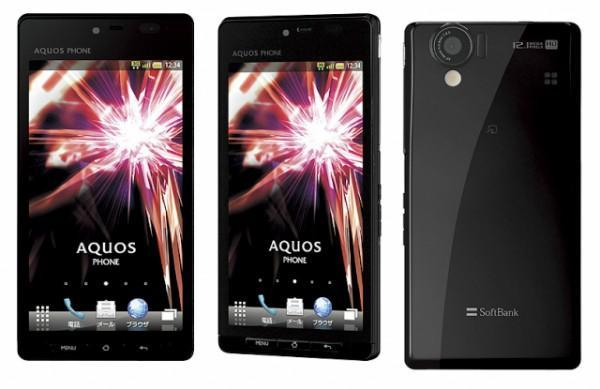 Sharp's Aquos Phone 102SH brings 3D 720p display, 12 megapixel CMOS sensor to Japan