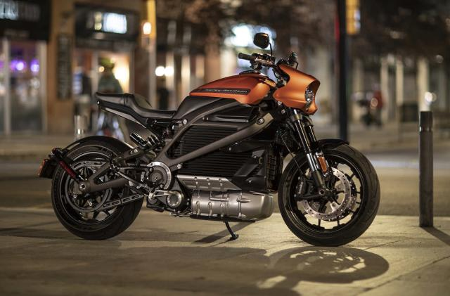Harley-Davidson shows off its road-ready LiveWire electric bike