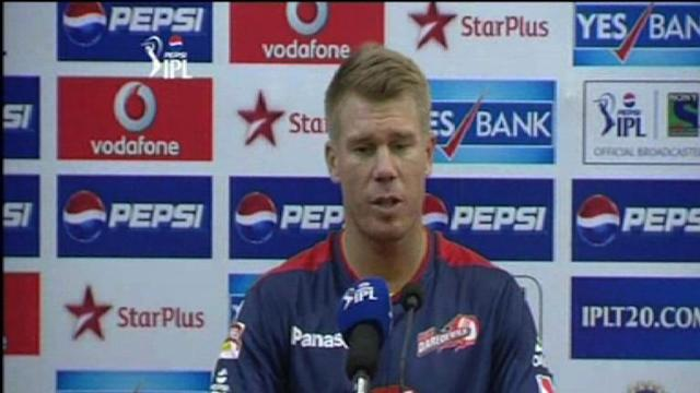 Delhi Daredevils post-match press conference