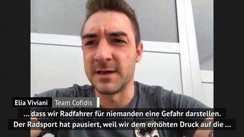 """Viviani: """"Sollten Radsport-Saison neu starten"""""""
