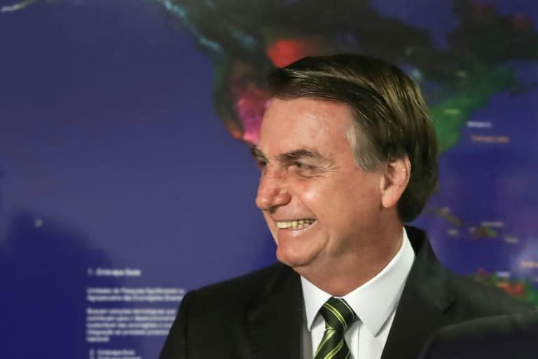 "Bolsonaro has been dubbed the ""Trump of the Tropics"" (AFP Photo/MARCOS CORREA)"