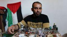 Las protestas en la frontera de Gaza ofrecen inspiración y materiales a los artistas