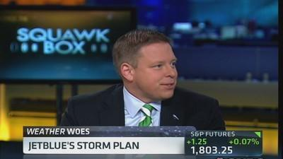 Jetblue COO: Forecasting delay, not cancellations