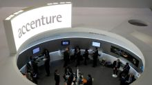Accenture trims profit margin forecast as spending grows; stock dives